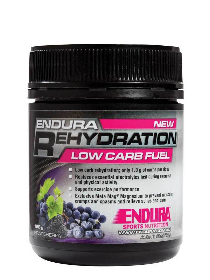 Endura Rehydration Low Carb Fuel , 122g  (met.Approx. 32 serves) image 0