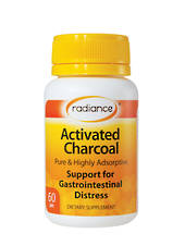Radiance Activated Charcoal, 60 Capsules