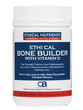 Ethical Nutrients Bone Builder with Vitamin D, 150g Powder (chocolate flavour)