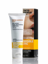 Invisible Zinc Sheer Defence Moisturiser SPF50 50g, Medium