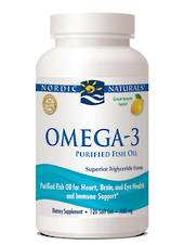 Nordic Naturals Omega-3, Softgels 60 (best before end 03/20)