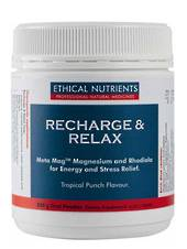 Ethical Nutrients Mega Magnesium Energy and Stress (previously called Ethical Nutrients Recharge and Relax), 230g Powder