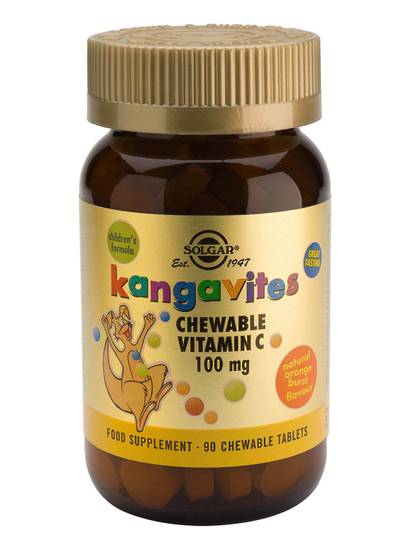 Solgar Kangavites Children's Chewable Vitamin C (90 Chewable Tablets)