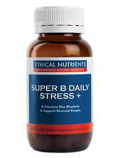 Ethical Nutrients Super B Daily Stress, 30 or 60 Tablets