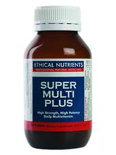 Ethical Nutrients Super Multi Plus, Tablets, 30, 60 or 120