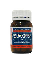 Ethical Nutrients - Triple Action Sleep Support, 30 Tablets