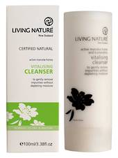 Living Nature Vitalising Cleanser, 100ml