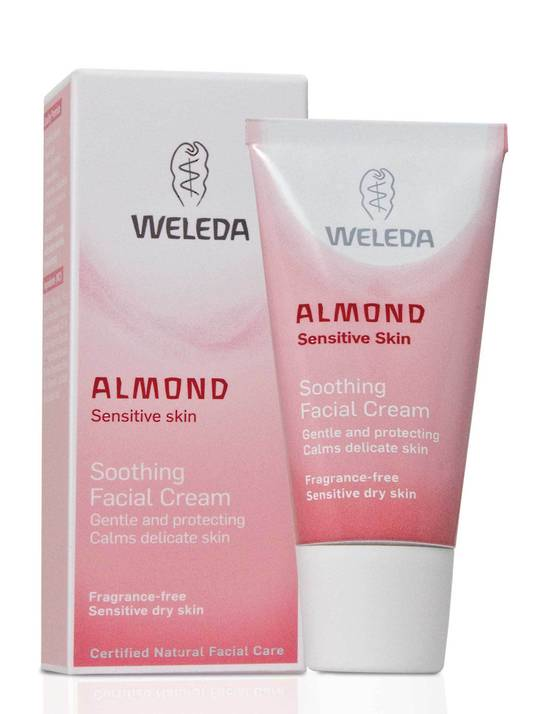 Weleda Almond Soothing Facial Cream, 30ml