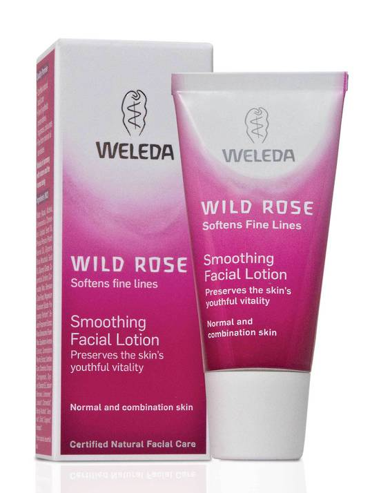 Weleda Wild Rose Smoothing Facial Lotion, 30ml