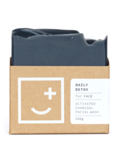 Fair and Square Soapery Daily Detox Soap, 150g