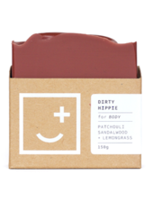 Fair and Square Soapery Dirty Hippie Soap, 150g