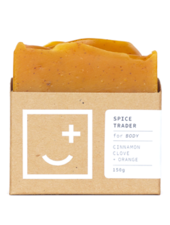 Fair and Square Soapery Spice Trader Soap, 150g
