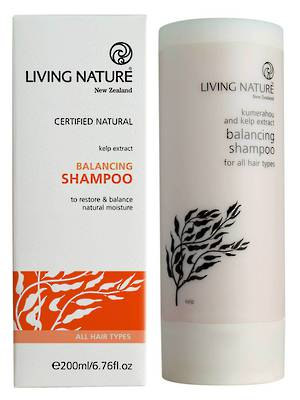 Living Nature Balancing Shampoo, 200ml