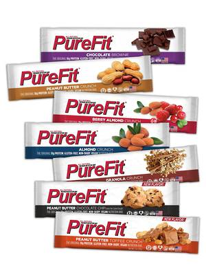 PureFit Nutrition Bar, wheat, gluten & dairy free (box of 15 bars)