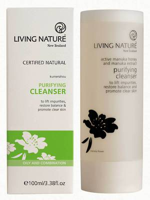 Living Nature Purifying Cleanser, 100ml (BB End March 2018)