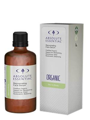 Absolute Essential Organic Rejuvenating Face Serum, 25ml or 100ml