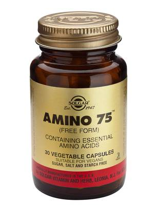 Solgar Amino 75 (30 Vegetable Capsules)