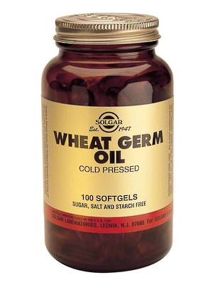 Solgar Wheatgerm Oil 1130mg (100 Softgels)
