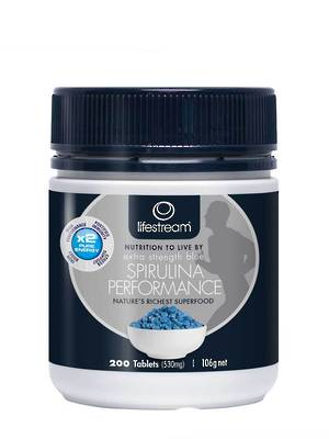 Lifestream Extra Strength Blue Spirulina Performance, 200 Tablets