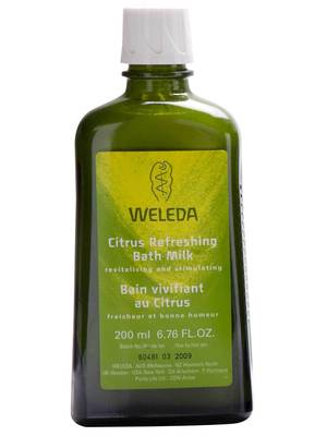 Weleda Citrus Refreshing Bath Milk, 200ml