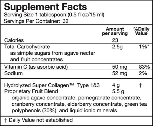 Supplement-Facts CollPomLiq