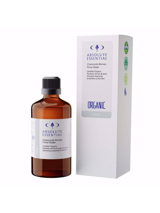 Absolute Essential Chamomile Roman Floral Water Organic, 100ml