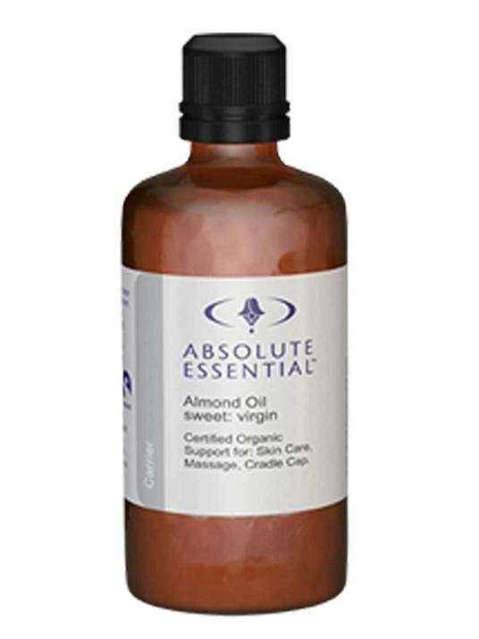 Absolute Essential Organic Sweet Almond Oil, 50ml & 200ml