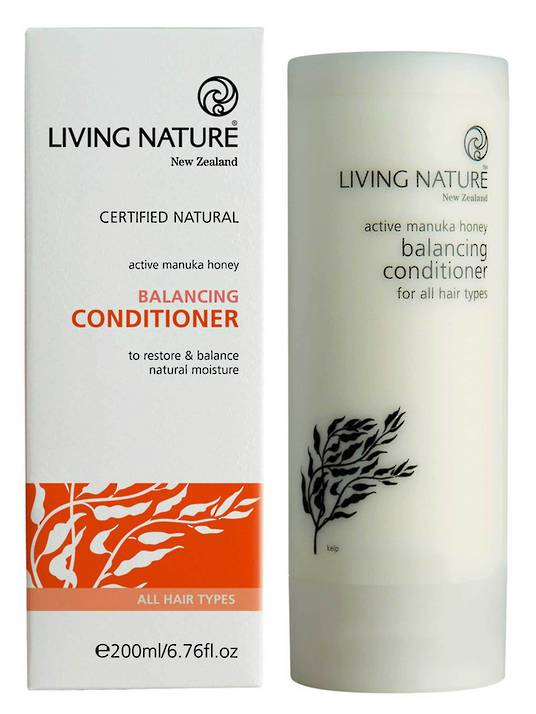 Living Nature Balancing Conditioner, 200ml (Best Before End 11/18)