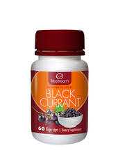 Lifestream NZ BioActive Blackcurrant Capsules Eye Health+