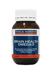 Ethical Nutrients Brain Health, 30 Capsules (replaces Memory Booster)