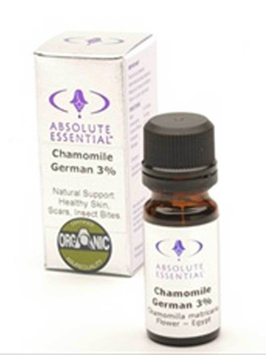 Absolute Essential Organic Chamomile German 3%, 10ml