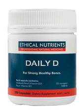 Ethical Nutrients Daily D, 90 or 270 Capsules