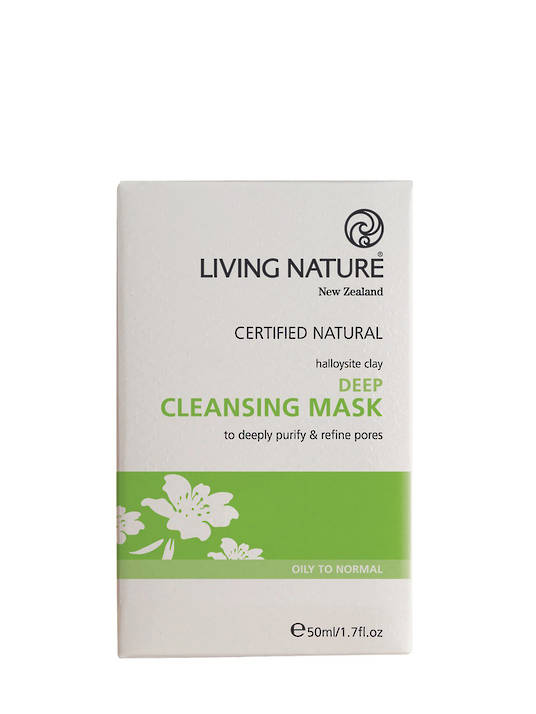 Living Nature Deep Cleansing Mask, 50ml
