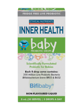 Ethical Nutrients Inner Health Baby Probiotic Drops, 8ML
