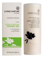 Living Nature Extra Hydrating Toning Gel, 100ml