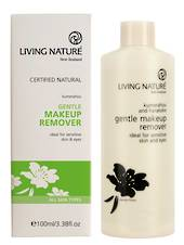 Living Nature Gentle Makeup Remover, 100ml