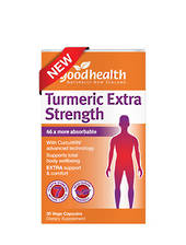 Good Health Turmeric Extra Strength, 30 or 60 Vege Capsules