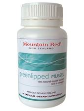 Mountain Red Green Lipped Mussels, 60 Capsules