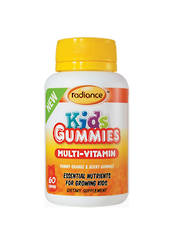 Radiance Kids Gummies Multi Vitamin, 60, 2 for 1 offer (best before end 08/19)