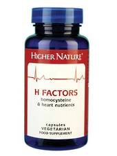 Higher Nature H Factors, 180 Capsules