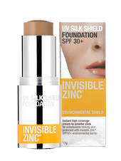 Invisible Zinc UV Silk Shield Foundation Tinted 15g (No longer available but we have found a replacement product)