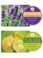 It's All Good Natural Deodorant, 20ml