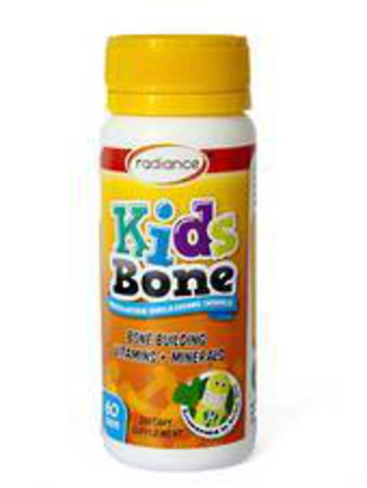 Radiance Kids Bone Vitamins and Minerals, 60 chewable tablets