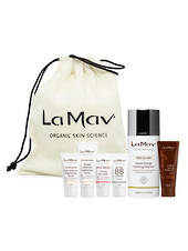 La Mav Sweet Orange Foaming Cleanser Christmas Gift Set