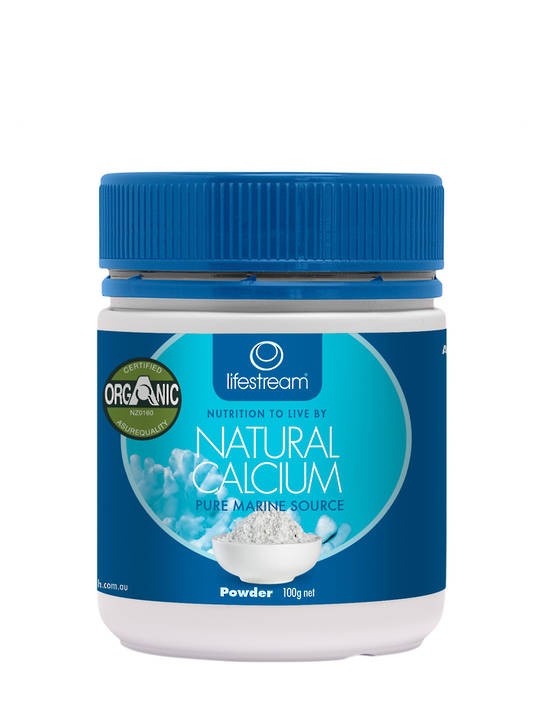 Lifestream Natural Calcium, Powder