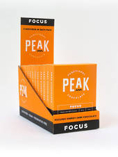 Peak Chocolate Focus, 12 pack