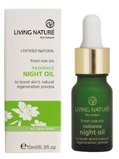 Living Nature Radiance Night Oil, 10ml
