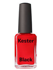Kester Black Nail Polish Rouge - Bright Red, 15ml