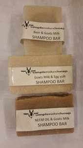 SNS Shampoo Bars, 100g oblong bar