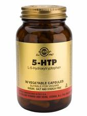 Solgar 5-HTP (L-5-Hydroxytryptophan) Complex Vegetable, 30 Capsules